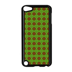 Christmas Paper Wrapping Patterns Apple Ipod Touch 5 Case (black)