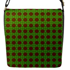 Christmas Paper Wrapping Patterns Flap Messenger Bag (s)