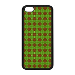 Christmas Paper Wrapping Patterns Apple Iphone 5c Seamless Case (black)