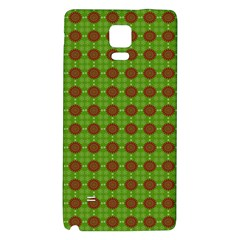 Christmas Paper Wrapping Patterns Galaxy Note 4 Back Case
