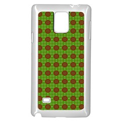Christmas Paper Wrapping Patterns Samsung Galaxy Note 4 Case (white)