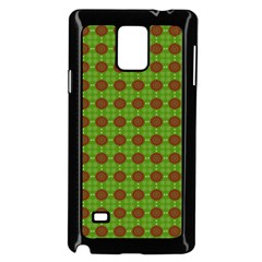 Christmas Paper Wrapping Patterns Samsung Galaxy Note 4 Case (Black)