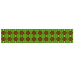 Christmas Paper Wrapping Patterns Flano Scarf (Large)