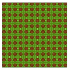 Christmas Paper Wrapping Patterns Large Satin Scarf (square)