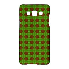 Christmas Paper Wrapping Patterns Samsung Galaxy A5 Hardshell Case