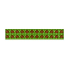 Christmas Paper Wrapping Patterns Flano Scarf (Mini)