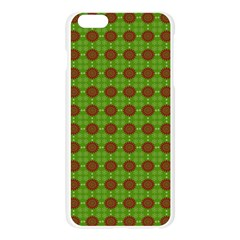 Christmas Paper Wrapping Patterns Apple Seamless iPhone 6 Plus/6S Plus Case (Transparent)