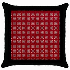 Christmas Paper Pattern Throw Pillow Case (Black)