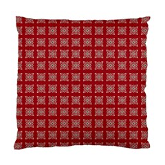Christmas Paper Pattern Standard Cushion Case (One Side)