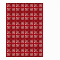 Christmas Paper Pattern Small Garden Flag (Two Sides)