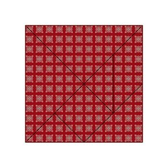 Christmas Paper Pattern Acrylic Tangram Puzzle (4  X 4 )