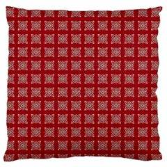 Christmas Paper Pattern Standard Flano Cushion Case (Two Sides)