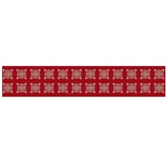 Christmas Paper Pattern Flano Scarf (large)