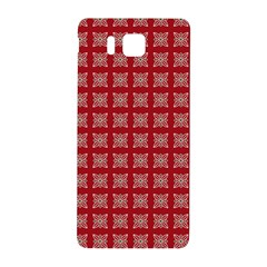Christmas Paper Pattern Samsung Galaxy Alpha Hardshell Back Case