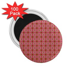 Christmas Paper Wrapping Pattern 2.25  Magnets (100 pack)