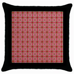 Christmas Paper Wrapping Pattern Throw Pillow Case (Black)