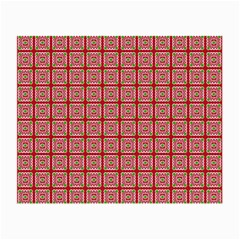 Christmas Paper Wrapping Pattern Small Glasses Cloth