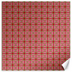 Christmas Paper Wrapping Pattern Canvas 16  X 16