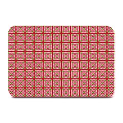 Christmas Paper Wrapping Pattern Plate Mats