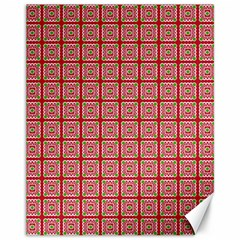 Christmas Paper Wrapping Pattern Canvas 11  x 14