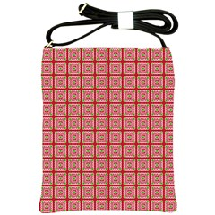Christmas Paper Wrapping Pattern Shoulder Sling Bags