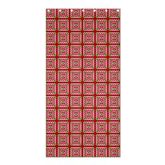 Christmas Paper Wrapping Pattern Shower Curtain 36  X 72  (stall)