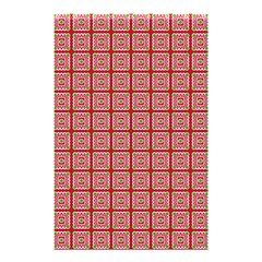 Christmas Paper Wrapping Pattern Shower Curtain 48  x 72  (Small)