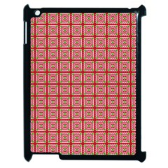 Christmas Paper Wrapping Pattern Apple iPad 2 Case (Black)