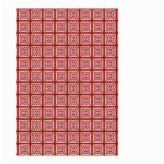 Christmas Paper Wrapping Pattern Small Garden Flag (Two Sides)