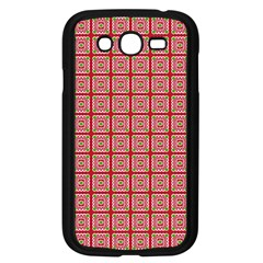 Christmas Paper Wrapping Pattern Samsung Galaxy Grand DUOS I9082 Case (Black)