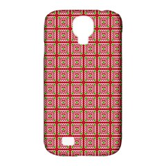 Christmas Paper Wrapping Pattern Samsung Galaxy S4 Classic Hardshell Case (pc+silicone)