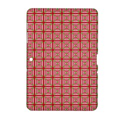 Christmas Paper Wrapping Pattern Samsung Galaxy Tab 2 (10.1 ) P5100 Hardshell Case