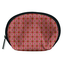 Christmas Paper Wrapping Pattern Accessory Pouches (Medium)