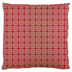 Christmas Paper Wrapping Pattern Standard Flano Cushion Case (one Side)