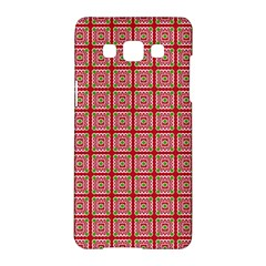 Christmas Paper Wrapping Pattern Samsung Galaxy A5 Hardshell Case