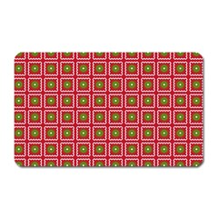 Christmas Paper Wrapping Magnet (Rectangular)