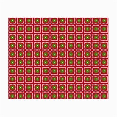 Christmas Paper Wrapping Small Glasses Cloth