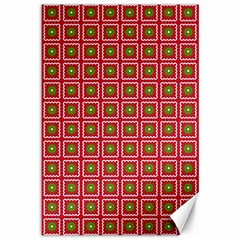 Christmas Paper Wrapping Canvas 12  x 18