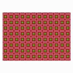 Christmas Paper Wrapping Large Glasses Cloth