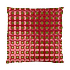 Christmas Paper Wrapping Standard Cushion Case (Two Sides)