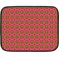 Christmas Paper Wrapping Double Sided Fleece Blanket (Mini)