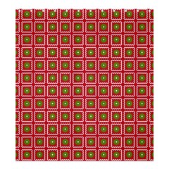 Christmas Paper Wrapping Shower Curtain 66  x 72  (Large)