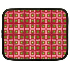 Christmas Paper Wrapping Netbook Case (XXL)