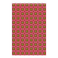 Christmas Paper Wrapping Shower Curtain 48  x 72  (Small)