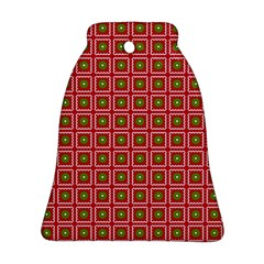 Christmas Paper Wrapping Bell Ornament (Two Sides)