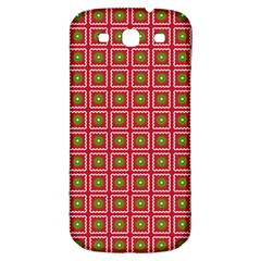 Christmas Paper Wrapping Samsung Galaxy S3 S III Classic Hardshell Back Case