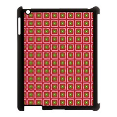 Christmas Paper Wrapping Apple Ipad 3/4 Case (black)