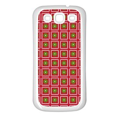 Christmas Paper Wrapping Samsung Galaxy S3 Back Case (white)