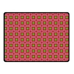 Christmas Paper Wrapping Double Sided Fleece Blanket (Small)