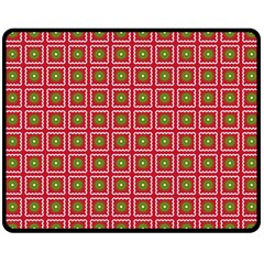 Christmas Paper Wrapping Double Sided Fleece Blanket (medium)